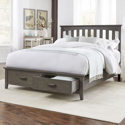 Carroll Storage Platform Bed Size: California King