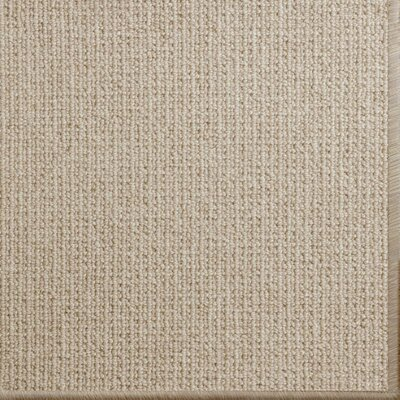 Pamela Wool Beige Area Rug Rug Size: 9' x 12'