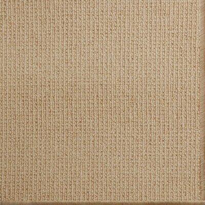 Pamela Wool Tan Area Rug Rug Size: 6 x 9