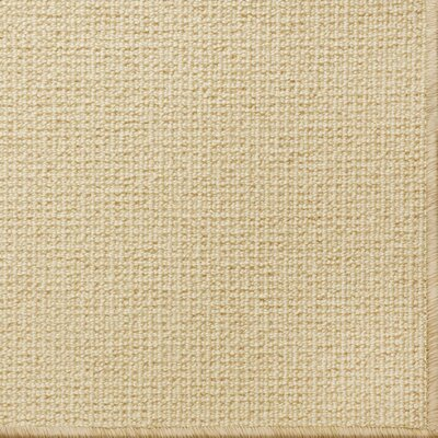 Pamela Wool Honey Area Rug Rug Size: 6 x 9