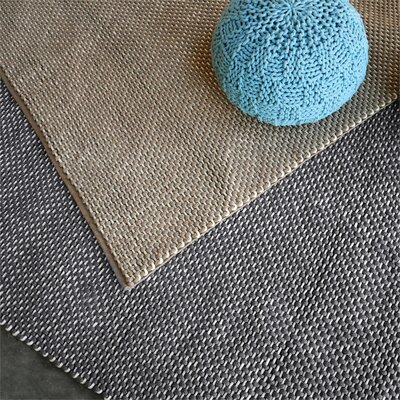 Philomene Hand-Woven Taupe Indoor/Outdoor Area Rug Rug Size: 8 x 10