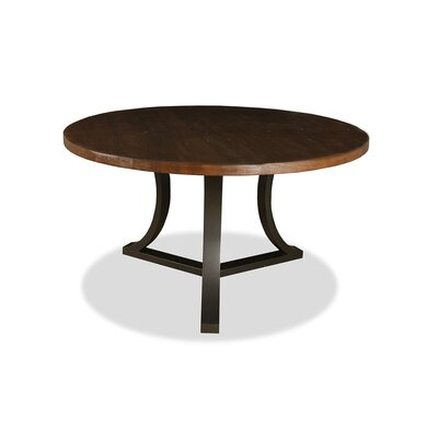 Louisa Rounded Wood Dining Table Finish: Dry Cognac