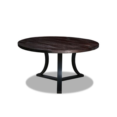Louisa Rounded Wood Dining Table Finish: Dry Espresso