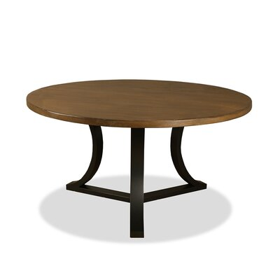 Louisa Modern Rounded Dining Table Finish: Dry Smoke