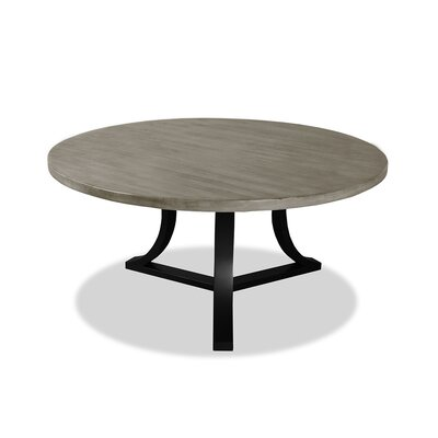 Louisa Modern Rounded Dining Table Finish: Dry Cement