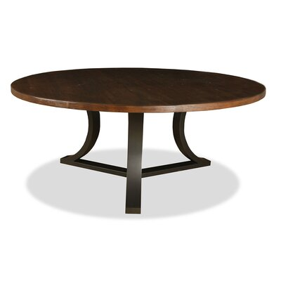 Louisa Rounded Dining Table Finish: Dry Cognac