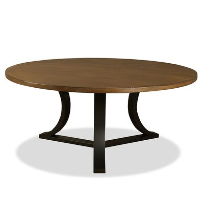 Louisa Rounded Dining Table Finish: Dry Smoke