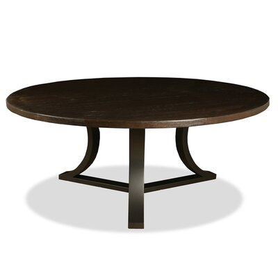 Louisa Rounded Dining Table Finish: Dry Walnut