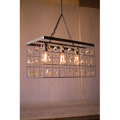 Inez Rectangle Foyer Pendant