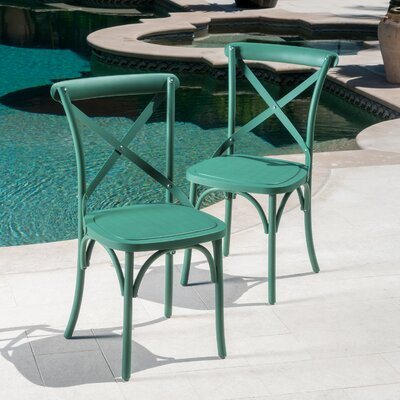 Lison Dining Chair Color: Magnolia Green