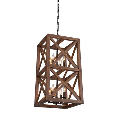 Kata 8-Light Foyer Pendant