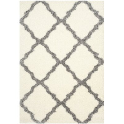 Macungie Gray Indoor Area Rug Rug Size: Rectangle 53 x 76