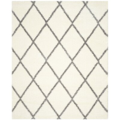 Macungie Gray/Beige Area Rug Rug Size: Rectangle 8 x 10