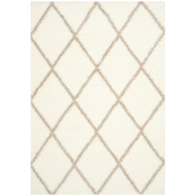 Macungie Beige Indoor Area Rug Rug Size: Rectangle 53 x 76