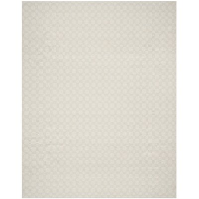 Loganville Cotton Hand-Woven Light Blue/Ivory Area Rug Rug Size: Rectangle 8 x 10