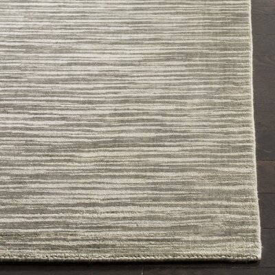 Jessup Hand-Woven Brown Area Rug Rug Size: Rectangle 6 x 9
