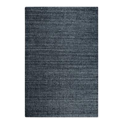 Peyton Hand-Woven Wool Charcoal Area Rug Rug Size: Rectangle 5 x 8