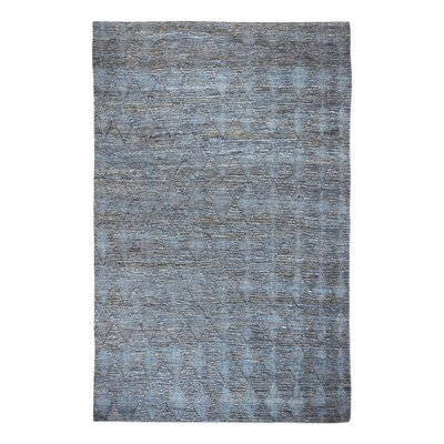 Rachel Hand-Woven Slate Area Rug Rug Size: 8' x 10'