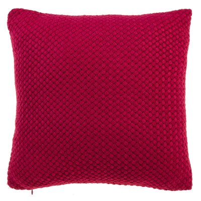 Shant Throw Pillow Color: Red