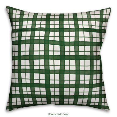 Patricio Plaid Throw Pillow Type: Throw Pillow