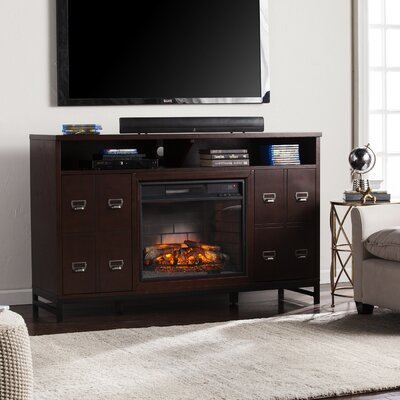 Yadhu Infrared Media Stand Electric Fireplace