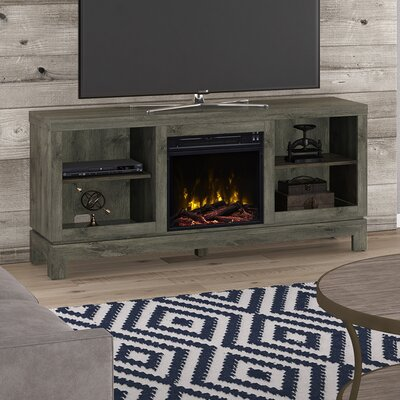 Karinthia Electric 59.5 TV Stand Fireplace Included: Yes