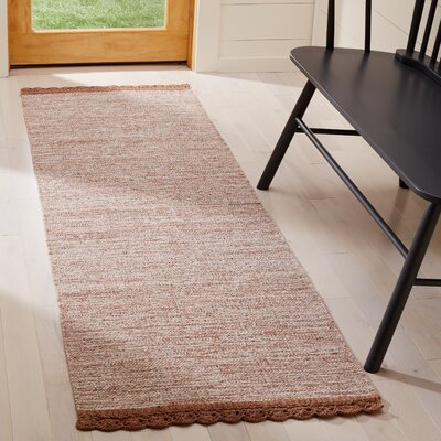 Mohnton Hand-Woven Brown/Gray Area Rug Rug Size: Runner 23 x 7