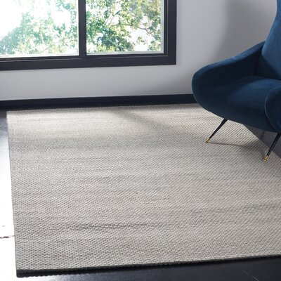 Shaniko Hand Tufted Gray Area Rug� Rug Size: Rectangle 8 x 10