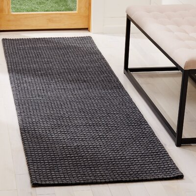 Steffen Hand Tufted Gray Area Rug� Rug Size: Runner 23 x 8