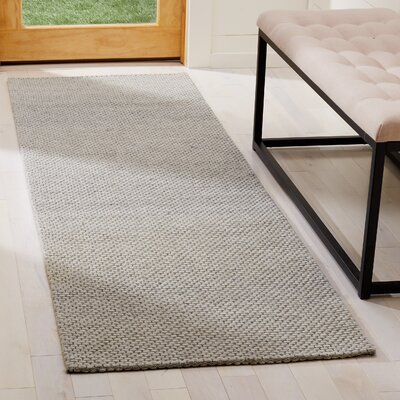 Shaniko Hand Tufted Gray Area Rug� Rug Size: Runner 23 x 8