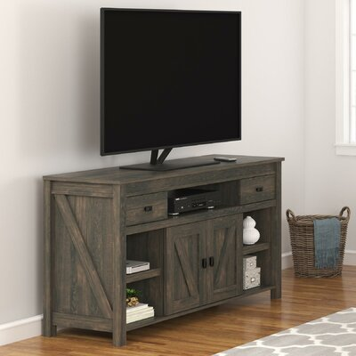 Cleveland 60 TV Stand Color: Weathered Oak