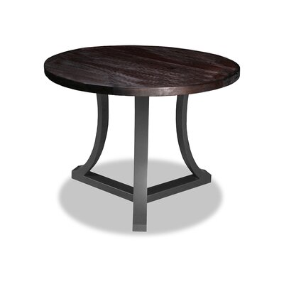Louisa Pub Table Top Color: Dry Espresso, Size: 42 H x 48 L x 48 W