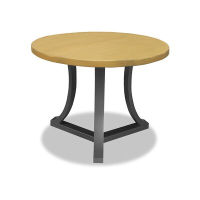 Louisa Pub Table Top Color: Dry Maple, Size: 42 H x 42 L x 42 W