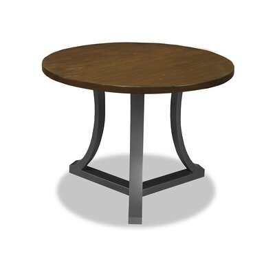 Louisa Pub Table Top Color: Dry Smoke, Size: 42 H x 42 L x 42 W