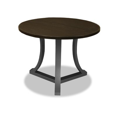 Louisa Pub Table Top Color: Dry Walnut, Size: 42 H x 42 L x 42 W