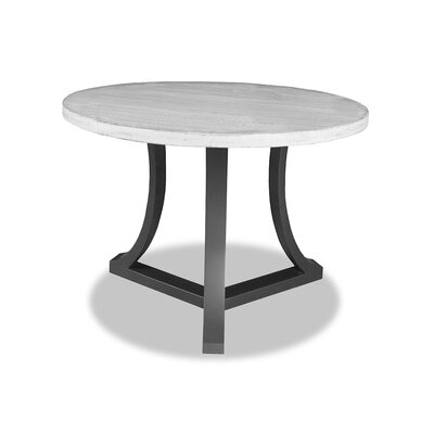 Louisa Pub Table Top Finish: Dry White, Size: 42 H x 42 L x 42 W