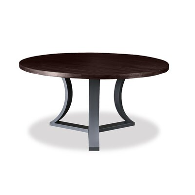 Louisa Modern Rounded Dining Table Finish: Dry Walnut
