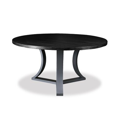 Louisa Modern Rounded Dining Table Finish: Dry Espresso