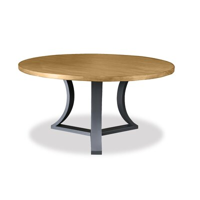 Louisa Modern Rounded Dining Table Finish: Dry Maple