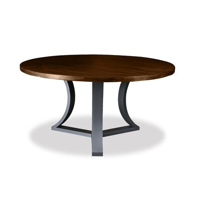 Louisa Modern Rounded Dining Table Finish: Dry Cognac