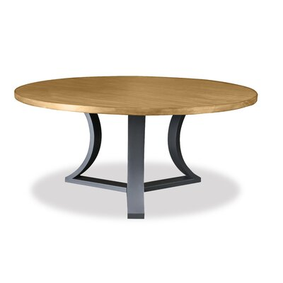 Louisa Modern Rounded Wood Dining Table Finish: Dry Maple