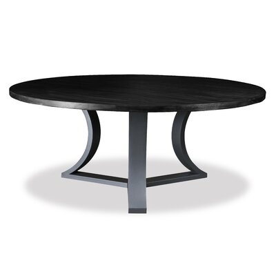 Louisa Rounded Dining Table Finish: Dry Espresso
