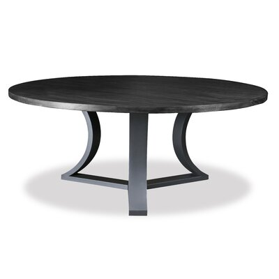 Louisa Rounded Dining Table Finish: Dry Grey