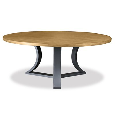 Louisa Rounded Dining Table Finish: Dry Maple