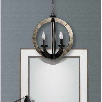 Wheatfield 4-Light Globe Pendant