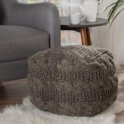 Lembach Pouf Upholstery: Linen