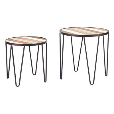 Sirjon 2 Piece End Table Set