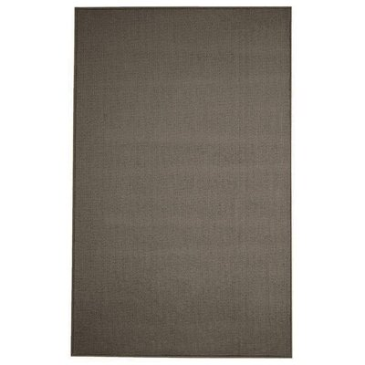 Pamela Wool Dark Brown Area Rug Rug Size: 5 x 8