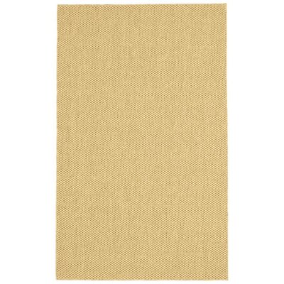 Parisot Machine Woven Maize Area Rug Rug Size: 5 x 8