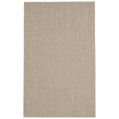 Volkman Taupe Area Rug Rug Size: 10 x 14